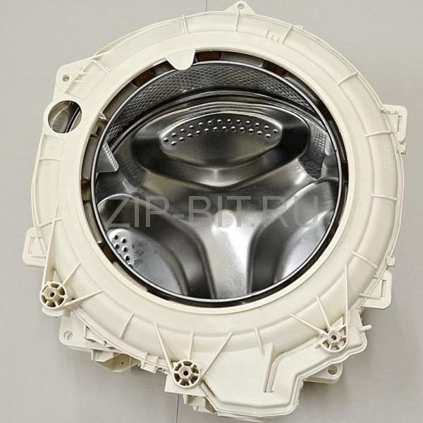 Бак стиральной машины Индезит-Аристон (в комплекте со шкивом и тэном), оригинальный код 287242,144653,283007