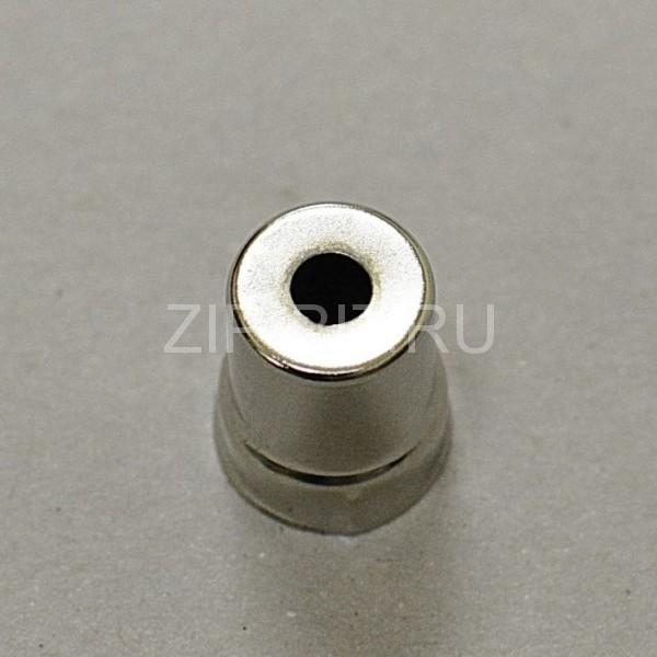 Колпачек магнетрона LG, d=15 mm (круглое отверстие. большое)