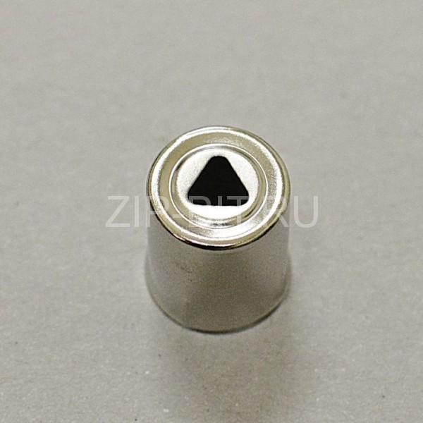 Колпачек магнетрона d=14 mm (треугольное отверстие)