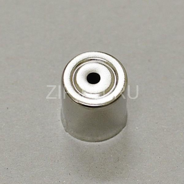 Колпачек магнетрона d=15 mm (круглое отверстие, малое)