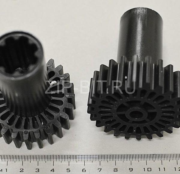 Шестерня Braun черная (привод шнека), 7051414, 4195612